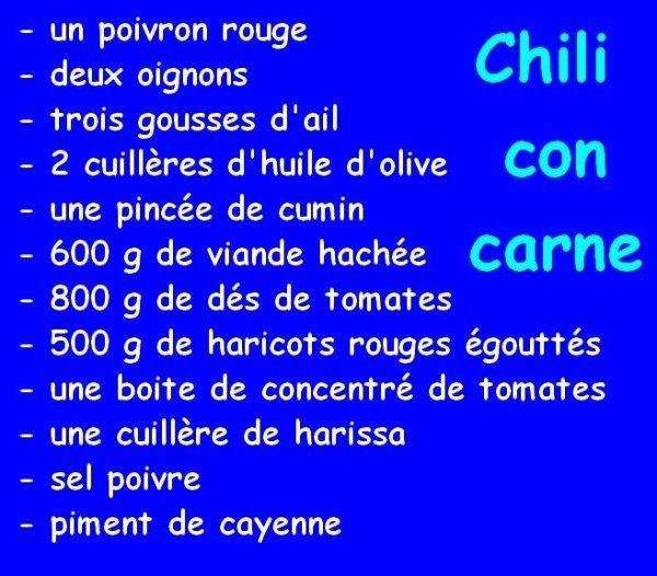 Chili con carne (au companion moulinex)