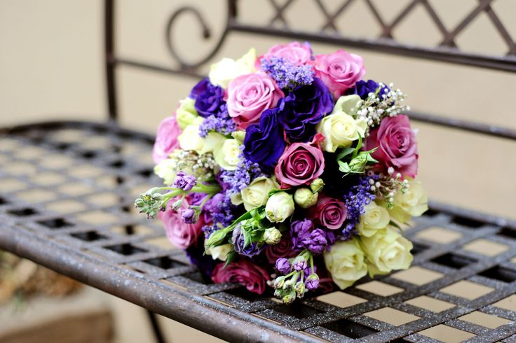 Dilightful Flowers - Cluster style posey - Bridal Bouquet