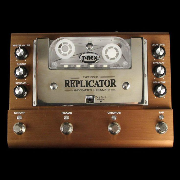 T-Rex Replicator Tape Echo Effect Pedal