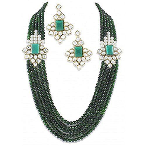 Indian Bollywood Gorgeous Unique Green pearls 5-Line Doub... https://www.amazon.com/dp/B01MXKGZWH/ref=cm_sw_r_pi_dp_x_nvFuzbBZW6HBN