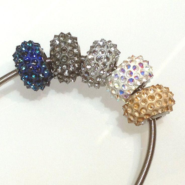 Swarovski Becharmed Pavé spiky beads!