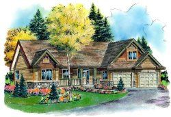 Find large collection of one story house plans. Choose from wide variety of single home plans at MonsterHousePlans.com. Your dream home just at click away!