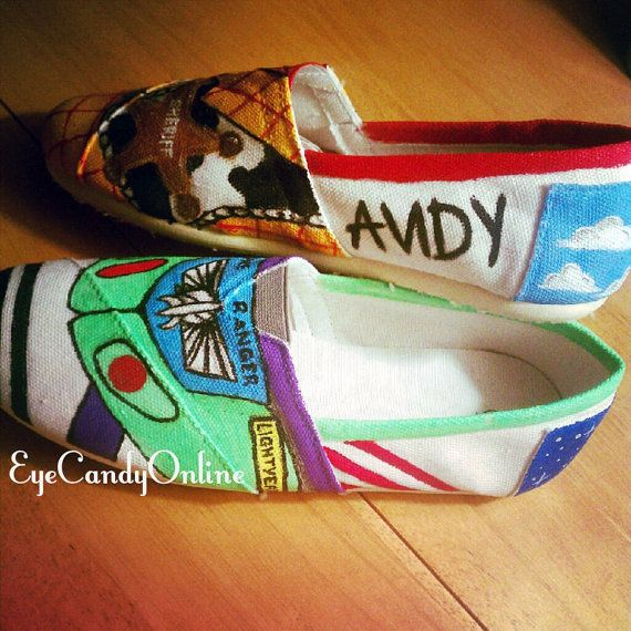 Disney Inspired Shoes toy story my favorite!!!!