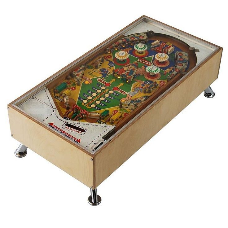 Illuminated Gottlieb Pinball Coffee Table Products Pinball And Other