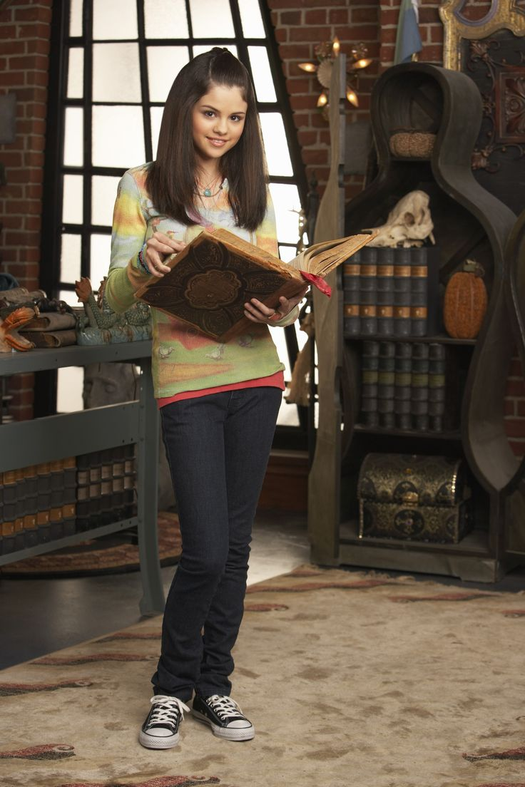"Selena Gomez ""Wizards of Waverly Place"" Promo Shoot"