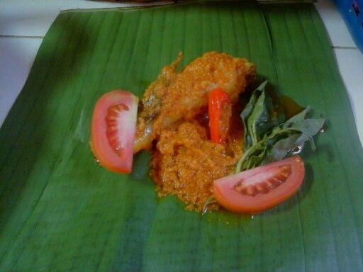 Pepes ayam, Indonesian traditional food