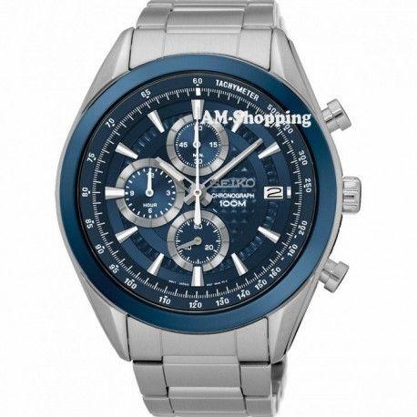 Relógio SEIKO com Pulseira de aço inoxidável , Saiba mais em : www.am-shopping.com  Por apenas  236.44 CHF ou  221.14 €  ( -10% Desconto )  Envio Grátis para todo o Mundo