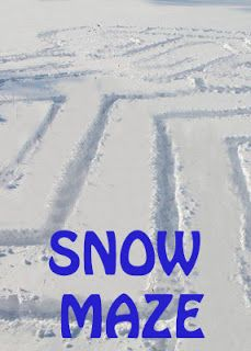 Life with Moore Babies: Snow Maze - used to do this at recess