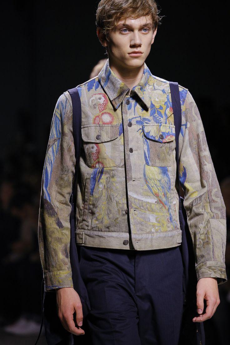Dries Van Noten Spring 2017 Menswear Fashion Show