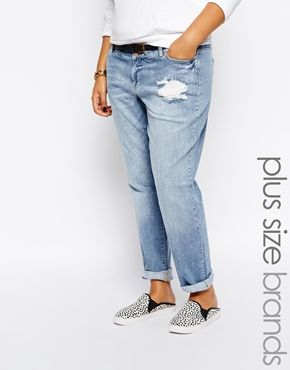 Junarose Bird Skinny Jeans With Destroy Detail