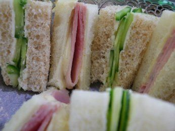 Tasty Finger Sandwiches for Afternoon Tea