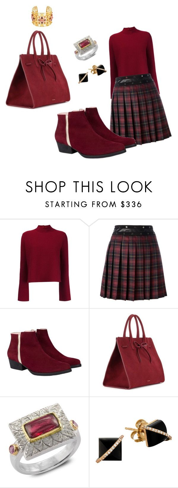 """""""red light camera"""" by inspiredbyart345 ❤ liked on Polyvore featuring Proenza Schouler, Giamba, Mansur Gavriel, Emma Chapman and Madyha Farooqui"""