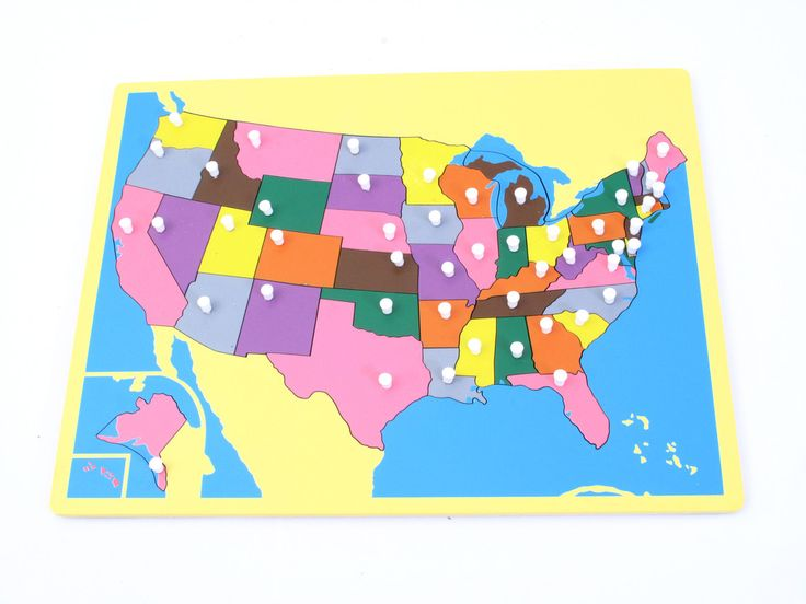 Board Map of USA