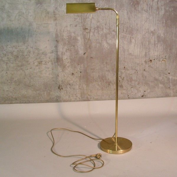 Messing Stehlampe. 1970 – 1975.