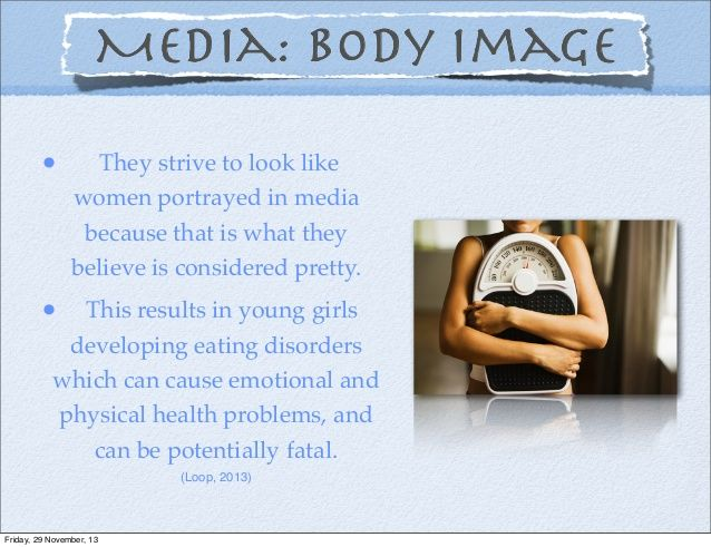 a comparison of the effects of the media and the effects of religion on body image The impact of media exposure on self-esteem and body satisfaction in men and women salenna russello abstract: the current study explored the effects of media exposure on men.