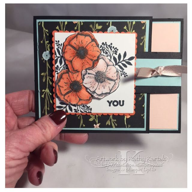 """Faithful INKspirations: Creation Station: Color My World! This card is made with Stampin' Up's """"Awesome You"""" stamp set and colored with Stampin' Blends."""