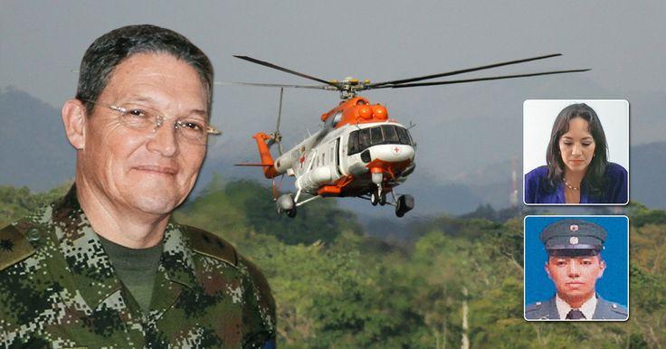 La guerrilla le entregó al oficial, sano y salvo, al Comité Internacional de la Cruz Roja en las selvas de Chocó.