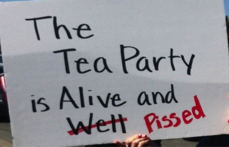 Tea Party Patriots | ... is alive and well pissed"