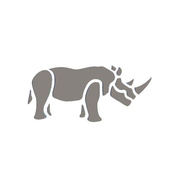 Rhino Stencil