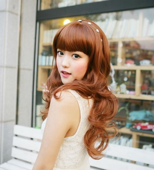 Asian Wavy Hairstyles For Long Hair : 10 best women hairstyle for asian images on pinterest