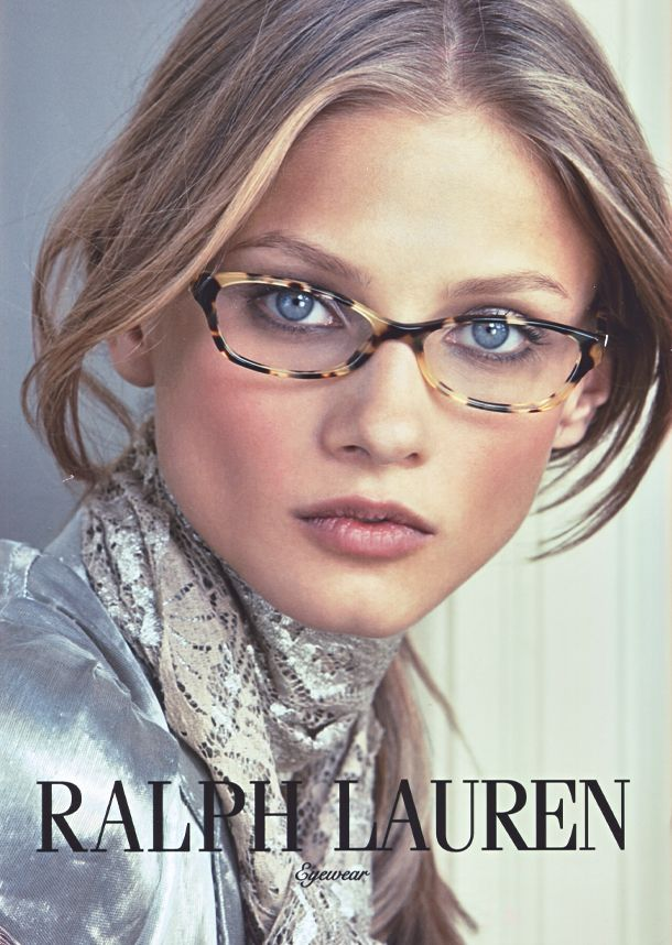 Ralph Lauren ~ if you have to wear eye glasses you really do want great ones!!