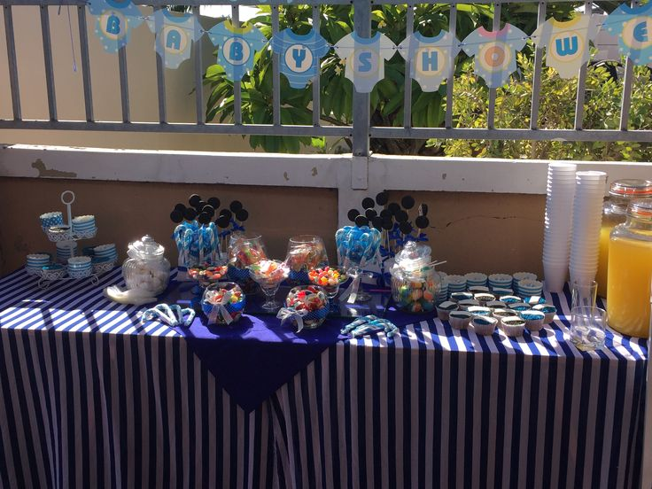 Baby Shower Candy Corner