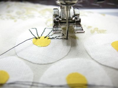 Raw-Edge Appliqué Tips & Free Pattern.  I use this technique a lot, but this page has some cute ideas.