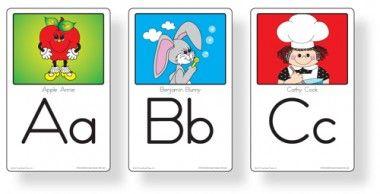English Alphabet Wall Cards - Card Sets - Frog Street Pre-K - Curriculum | Frog Street Press