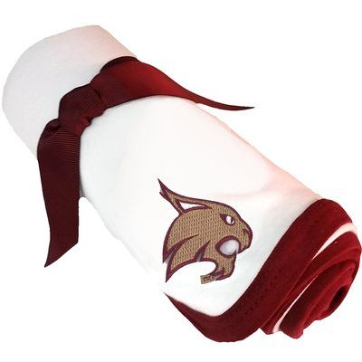 Harriet Bee Caryville NCAA Baby Receiving Blanket NCAA: Texas State Bobcats