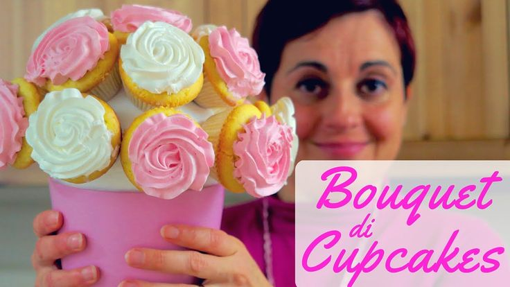 come realizzare un bouquet di cupcakes di rose, per presentare i cupcakes in modo originale o come idea regalo, decorare con i cupcakes per una festa