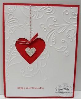 The Serene Stamper: Stampin' Up! Valentine Card