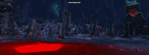 World of Warcraft - Deepholm region is the elemental plane of Earth where Deathwing the Destroyer retreated to recuperate after almost being killed by the combined might of the other dragons. Once he was back to full strength he broke out into the world, leaving Deepholm a shattered husk and the World Pillar in pieces.