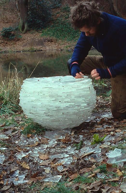 Good Intentions Co. | thedolab: Do Andy Goldsworthy's beautiful ice and...