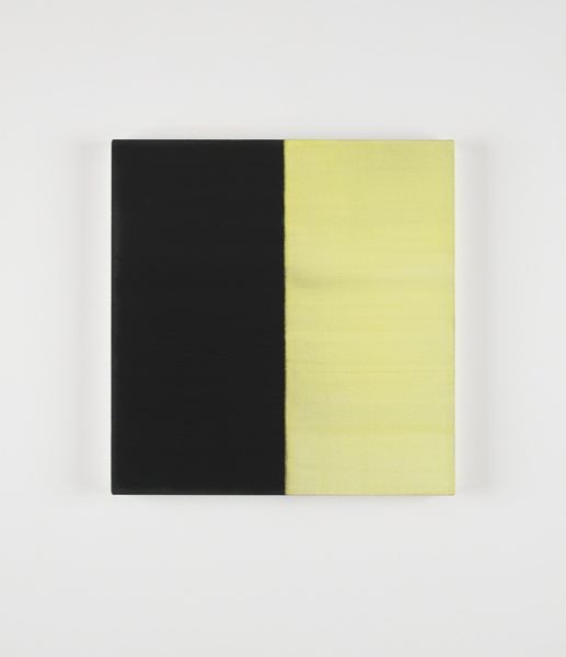 Untitled No. 10, 2012, Callum Innes: oil on linen, 62 x 60 cm: Callum Inn
