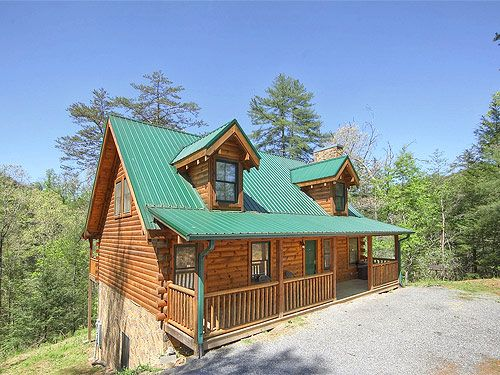 13 best enchanted vista images on pinterest mountain for Pigeon forge cabins with fishing