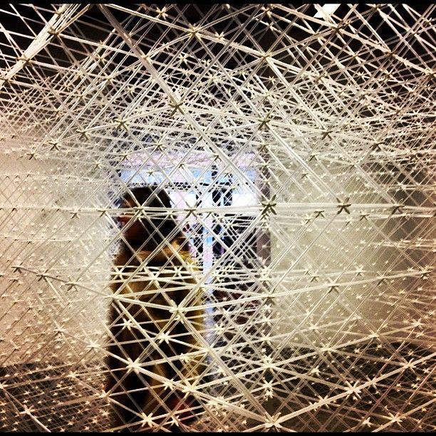 Dédale de pailles. #montrealbrooklyn #GalerieClark #instagram