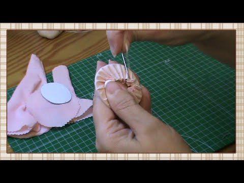 Tutorial: Muñeca completa 2ª parte: Coser piezas y rellenar - YouTube
