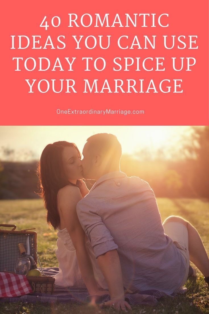It is time to get get the romance back in your marriage.