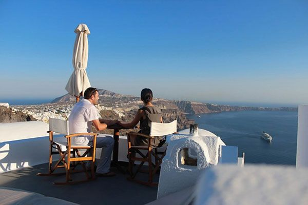 santorini greece & Sorrento, Rome, Capri, Pompeii, Italy Honeymoon