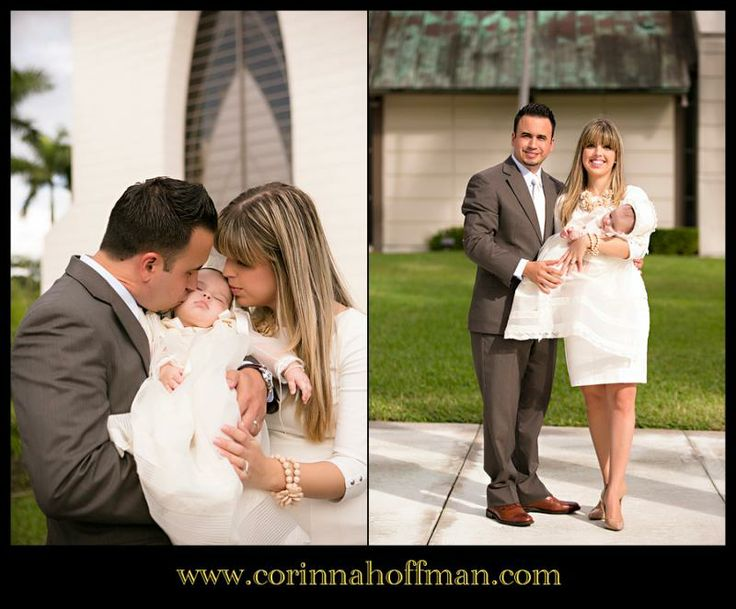 © Corinna Hoffman Photography - www.corinnahoffman.com - Baby Baptism - Miami, Florida - Jacksonville, FL Family Photographer