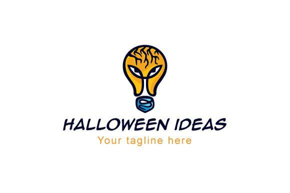 Halloween Ideas Logo by VecRas Creations on Creative Market