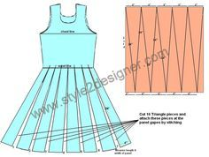 Triangle panel Anarkali is little accumulation or variation of Panel Anarkali. These types of Anarkali top having fit bodice and flare skirt part with Triangle and rectangle panels