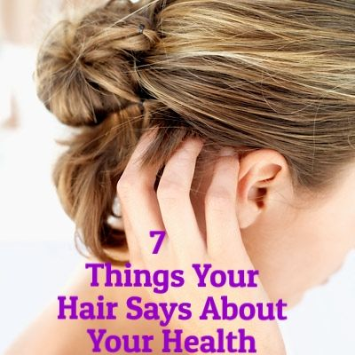 The health secrets your hair is trying to tell you.