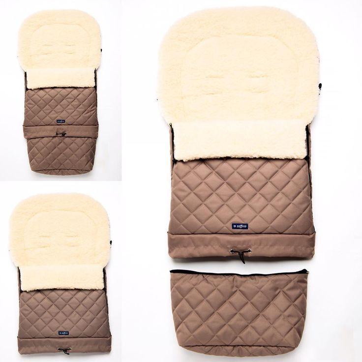 Strollerbag WOMAR Zaffiro Multi Arctic - cieplutki śpiwór do wózka z owczą wełną