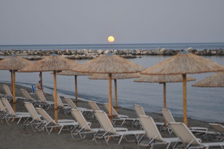 Skyros Island..Full moon