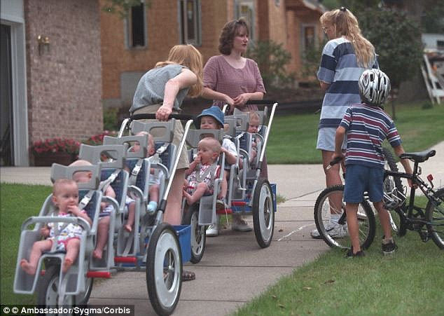 Party for seven! Record-breaking McCaughey septuplets turn 18