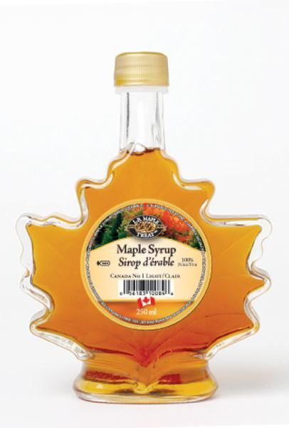 Pure Maple Syrup Canada Grade A, Amber Rich Taste