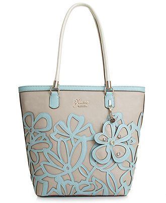 GUESS Handbag, Floren Small Carryall - All Handbags - Handbags & Accessories - #handbags #bags #beautyinthebag