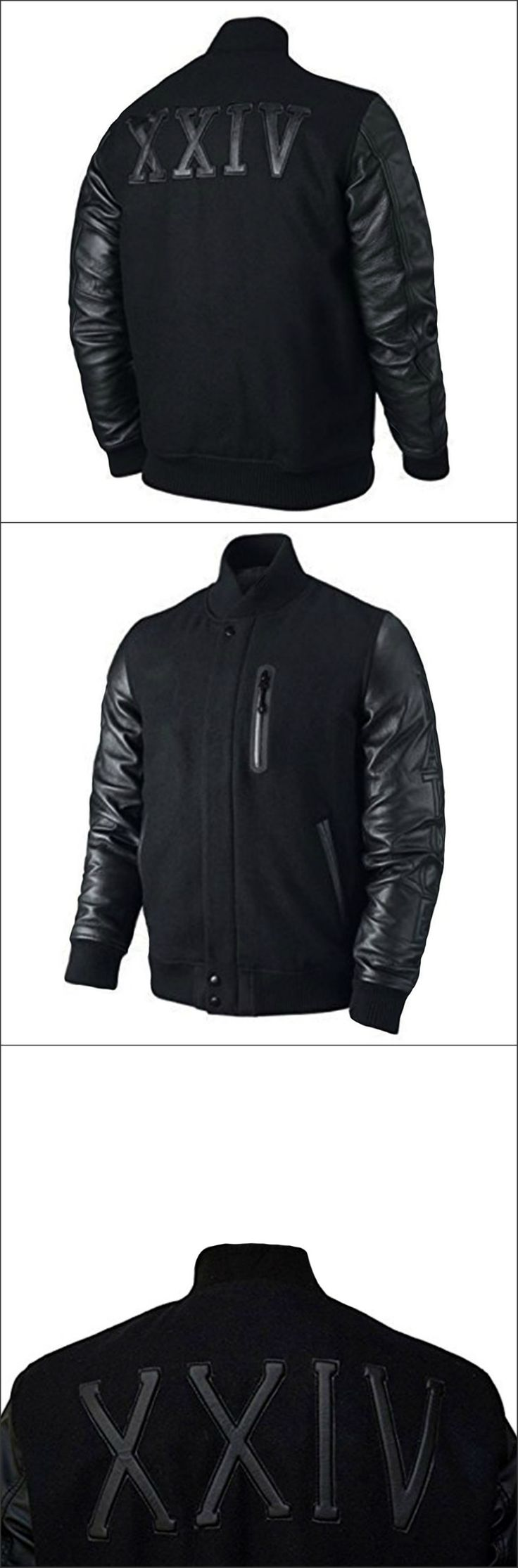 Zaan leathers Offers Kobe Destroyer XXIV Battle Letterman Jacket for All Stylish Men and Boys a Perfect Sports and Casual Outfit Wear at Any Occassion. Made with Wool Fabric with Real Leather Sleeves. Available at Our Online Store in Reasonable Price.
