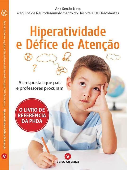 Livro Hiperatividade e Défice de Atenção